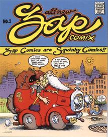 Moscosos Comic Books - Zap Comix #1