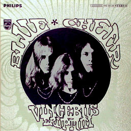 Blue Cheer with Pinnacle Rock Concerts 1st Album