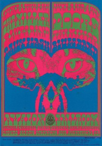 original psychedelic rock poster artists-Victor Moscoso