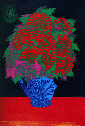 Concert Posters Art - Victor Moscoso